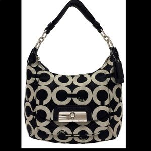 Coach Kristin Hobo Purse 16786